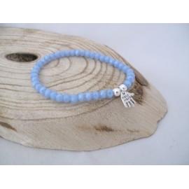 Saffierblauwe armband