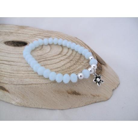IJsblauwe armband