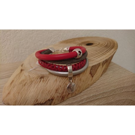 Lichtrode armband