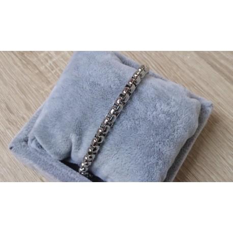 RVS armband zilver