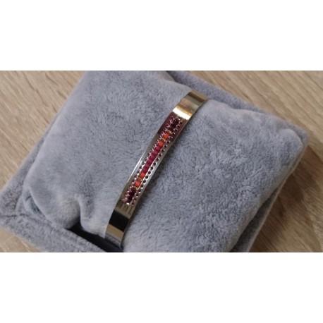 RVS armband met kraaltjes