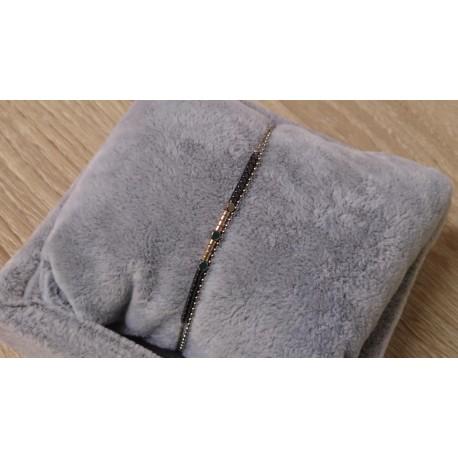 Taupe/grijs armbandje