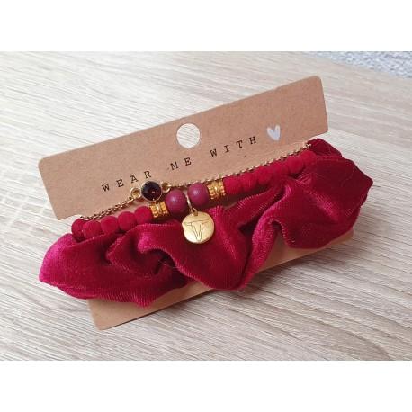 Set armbanden en scrunchie