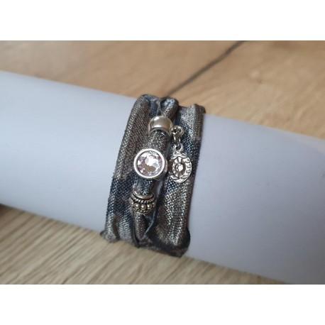 Groene snake armband