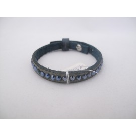 Enkel donkerblauw armbandje