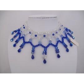 Kobaltblauwe ketting