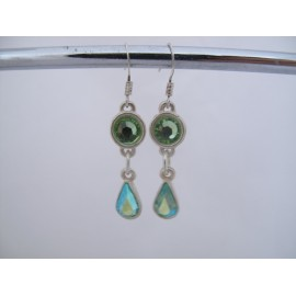 Groene oorbellen